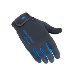 Luva Fechada Speed XD Cinza/Azul M [ 2457-020M ] Pro Hand