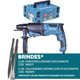Martelete SDS Plus 830W com Maleta HR2630J (220V) Makita