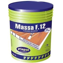 Massa para Madeira Branca F 12       6.50 Kg [ 2289 ] - Viapol