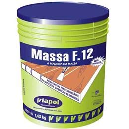 Massa para Madeira Marfim F 12 1.65 Kg [ 2329 ] - Viapol