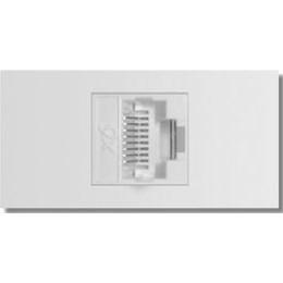 Módulo Inova Pro Branco - 1 Tomada p/Rj45 Internet [ 85024 ] - Alumbra