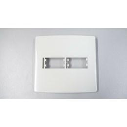 Módulo Siena Branco - Placa 4 X 4 2 Mod. [ 6411 ] - Alumbra