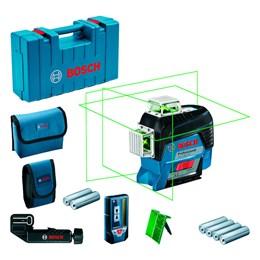 Nível Laser de Planos com Receptor LR7 GLL3-80CG Bosch