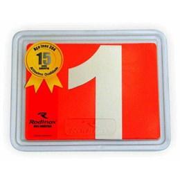 Número Residência Inox 100 mm N 1 [ 1056 ] - Rodinox