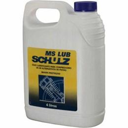 Óleo para Compressor Ms Lub 4 Litro [ 010.0017-0 ] - Schulz