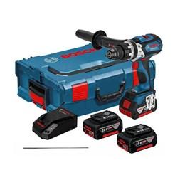 Parafusadeira 18.0V 2Bat C/Maleta Impac 4em1 Bosch GSB18VEEC