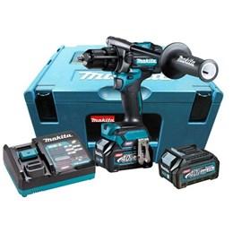 Parafusadeira de Impacto 40.0V Li 2 Bateria Com Maleta [ HP001GD201-2 ] (220V) - Makita