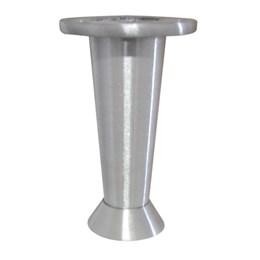 Pé Alumínio Escovado Regulável 125 mm 21Reg [ 20002104 ] - Alvorada