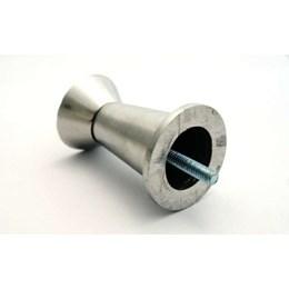 Pé Alumínio Polido Parafuso Central 80 mm 11P [ 11/80MM P ] - Alvorada