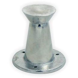 Pé Alumínio Polido Regulável 80mm 11 [ 11REG/80MM P ] - Alvorada