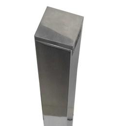 Pé Mesa Alum Quad. 2 X 2 Pol. 770 p/Vidro [ PQ 108-A VIDRO ] - Alvorada