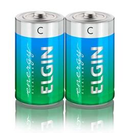 Pilha Média C Alcalina Sm 2 Pc [ 000000082156 ] - Elgin