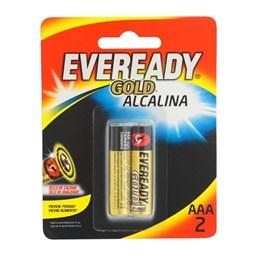 Pilha Palito  AAA  Alcalina  Sm  2 Pc [ 96818 ] - Eveready
