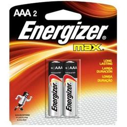 Pilha Palito  AAA  Alcalina   Sm  2 Pc [ 96875 ] - Energizer