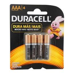 Pilha Palito  AAA  Alcalina Sm  6 Pc [ 1001765 ] - Duracell