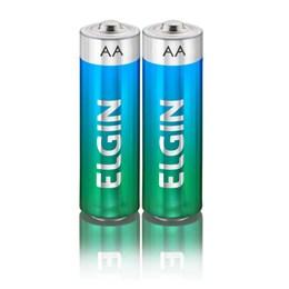 Pilha Pequena AA Alcalina Elgin SM 2 Peças [ 000000082152 ] - Elgin