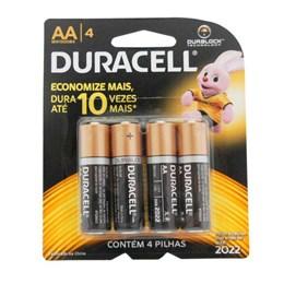 Pilha Pequena  AA  Alcalina Sm 4 Pc [ 1001766 ] - Duracell