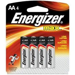 Pilha Pequena  AA  Alcalina   Sm  4 Pc - Energizer