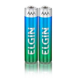 Pilha Pequena AAA Alcalina Elgin SM 2 Peças [ 000000082154 ] - Elgin