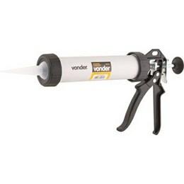 Pistola para Aplicar Silicone Alumínio 400 ML [ 3599005005 ] - Vonder