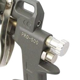 Pistola Pintura Média Pressão 1.5mm 45/60 Libras [Pro-500 ]- PDR PRO