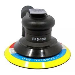 Pneumática Lixadeira Orbital C/Aspirador 6 Pro-400 PDR PRO