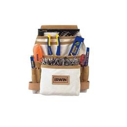 Pochete de Ferramentas em Lona com 10 Bolsos IW14090 Irwin