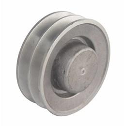 "Polia VA - 2 - 100 mm Alumínio 4"" [ PAL100A2 ] - Mademil"