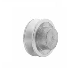 """Polia VB - 1 - 70 mm Alumínio 2.3/4"""" [ PAL70B1 ] - Mademil"""