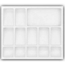 Porta Cédula Plástica 13 Div. 490X420 [ PC-05 ] - Mold Plast