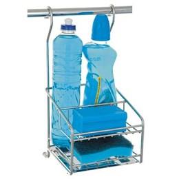 Porta Detergente Cromado c/Bandeja Inox [ 4650 ] - Jomer
