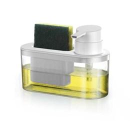 Porta Detergente/Esponja com Dispenser Off-White [ 1173 ] - Arthi