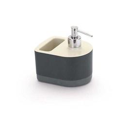 Porta Detergente/Esponja com Dispenser Off-White [ 5054 ] - Arthi