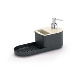 Porta Detergente/Esponja/Sabão com Dispenser Off-White [ 5056 ] - Arthi