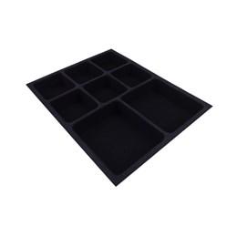 Porta Jóia Plástica/o Preto Aveludado 290X365 [ PJ-03 ] - Mold Plast