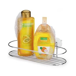Porta Shampoo Ventosa Cromado [ 1505 ] - Arthi