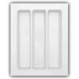 Porta Talheres Plástico 3 Div. 375X472X62mm [ DT-47 ] - Mold Plast