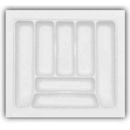 Porta Talheres Plástico 7 Div. 555X495X55mm [ DT-40 ] - Mold Plast
