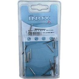 Prego Inox   10 X 10 c/C Pct c/ 20 Pcs [ 1401 ] - Bemfixa
