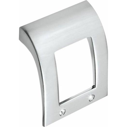 Puxador Alça Zamac 6001 Cromado/Strass 32mm - Metalsinos