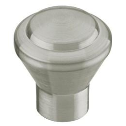 Puxador Botão Alum de Aço Escovado 1368/Ae [ 3730 ] - Italyline