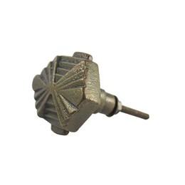 Puxador Botão Glamour Metal Dourado Polido [ 58618 ] - Venus Victrix