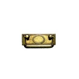 Puxador Colonial Alça Art 513 Ouro Machado [ 03.05.011 ] - Bigfer