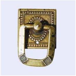 Puxador Colonial Botão Ouro Manchado 514 Art [ 03.05.012 ] - Bigfer