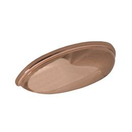 Puxador Concha Zamac 1600 Rose Color 64mm [ H1600/ROSE COLOR ] - Metalsinos