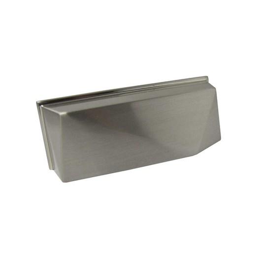 Puxador Concha Zamac 1607 Escovado 64mm [ H1607/ESC ] - Metalsinos