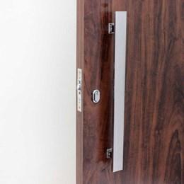Puxador para Porta Duplo 300mm Planus Eco Inox Polido [ I045IP ] - Geris