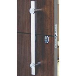 Puxador para Porta Duplo 500MM Verona Inox Escovado [ I681IE ] - Geris