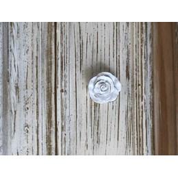 Puxador  Resina Flor Branco [ 57140 ] - Venus Victrix
