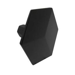 Puxador Zamac 1029 Preto Fosco Ponto [ H1029/PR FOSCO ] - Metalsinos